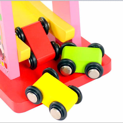 Trendy Wood Track For Car's Toy