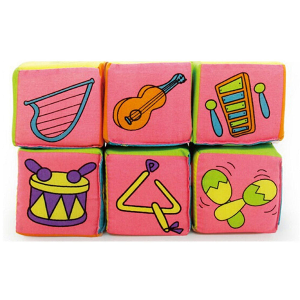 6PCS/Set of adorable Activity Cloth Book