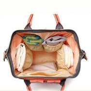 Fashion Mommy Maternity Nappy Bag! This Diaper Bag is Multi-Function! Waterproof for Travel.