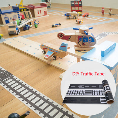 Railway and  Road Masking Tape For Kids