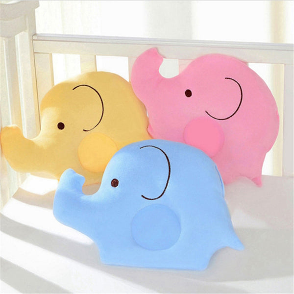 Baby Soft Colorful Elephant Shaping Pillow For Child's