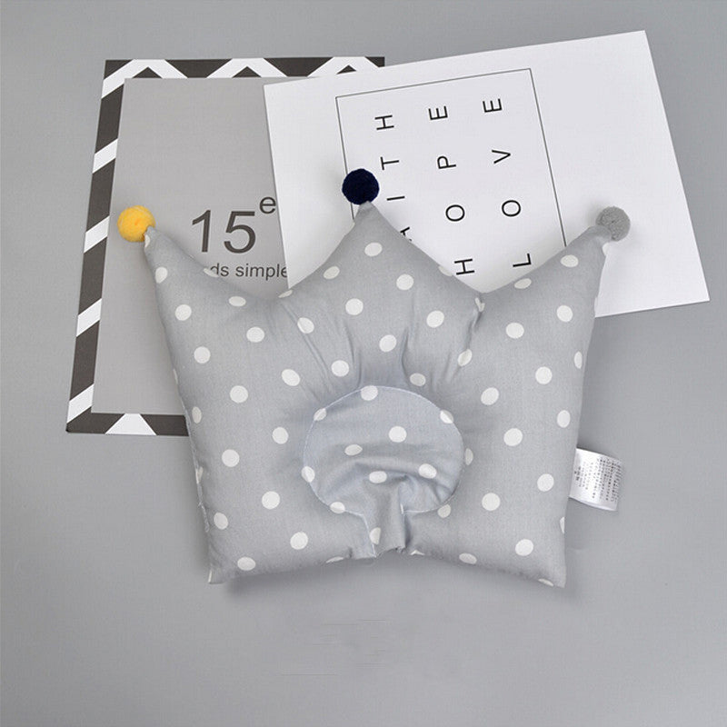 Baby Shaping Pillow Prevent Flat Head With Crown Shape
