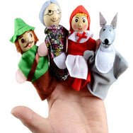 Cute Finger Puppets Dolls