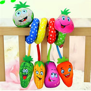 Spiral Vegetables/Watermelon Baby Activity Toy