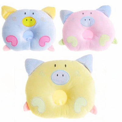 Soft  pillow with cute pigs on it, will give you & your child  calm sleeping.