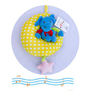 Cute Musical Soft Plush Elephant Hanging Toy