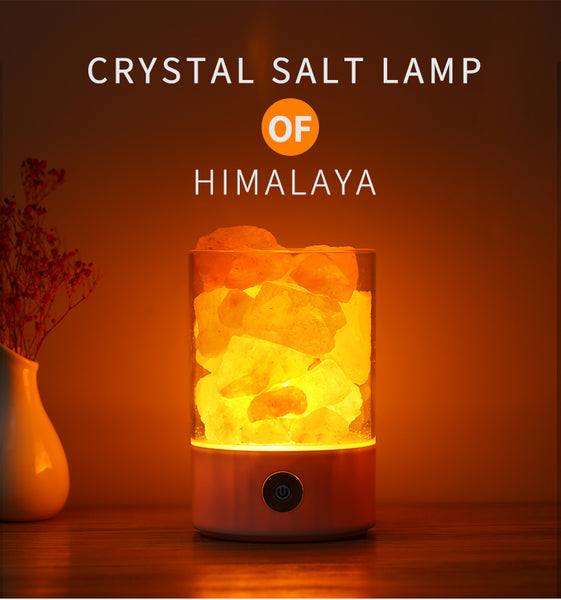 New stylish model 2018 of natural salt lamp of Himalaya with endless benefits.