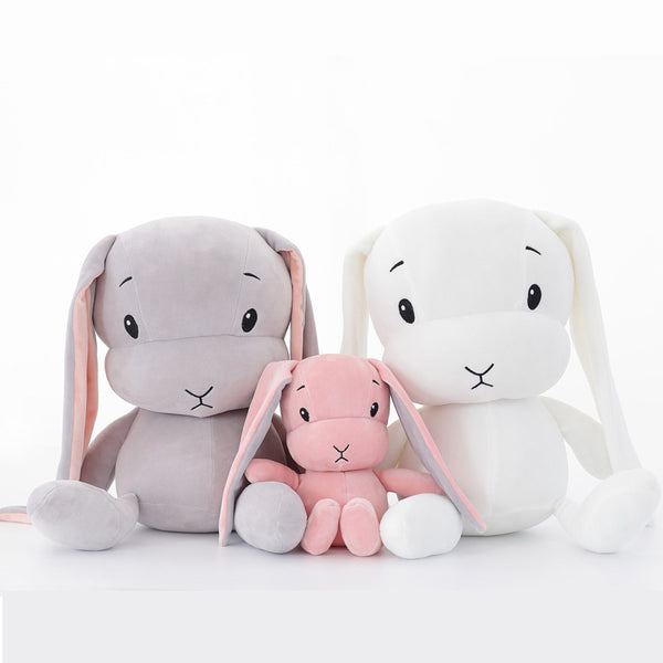 Great friend for sleeping! Soft big rabbit plush toy, will give your child endless joy.