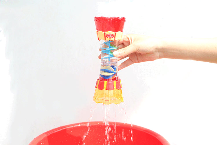 COOL BATHING TOY WITH WATER LEAK COLUMN