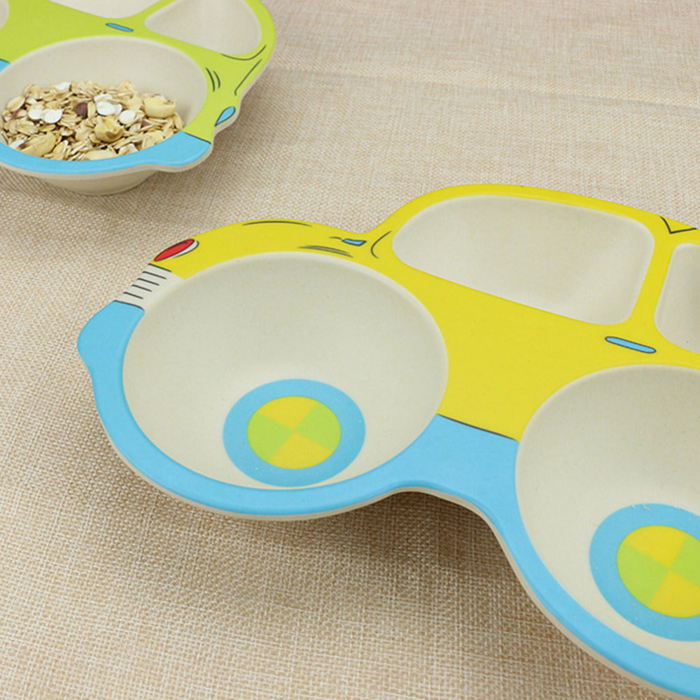 Lovely Car Shape Childrenu0027s Tableware ... & Lovely Car Shape Childrenu0027s Tableware Set. | Mami Mommy