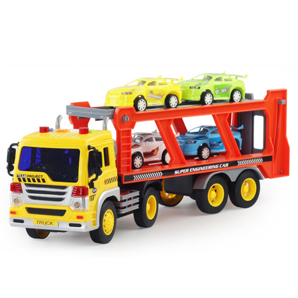 Children's large Vehicles  Functional Trailer Set With Sound And Light!