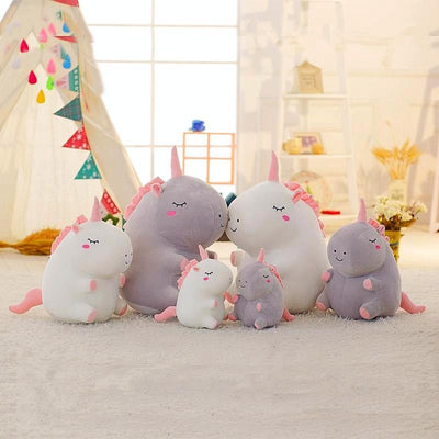 3 Size High Quality Lovely Plush Unicorn Toy Lovely Plush Unicorn Toy  Great friend for sleeping!