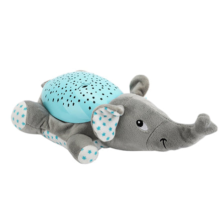 Animal Plush night lamp with amazing Star Pattern. A baby great friend for sleeping