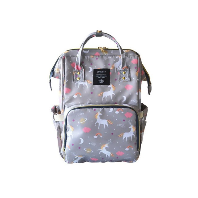 mother bags Large Unicorn design Maternity Nappy Bag