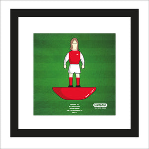 Subbuteo themed print - Arsenal FC - Charlie George