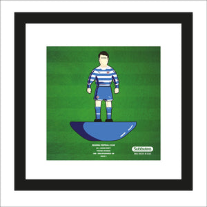 Subbuteo themed print - Reading FC - Graeme Murty