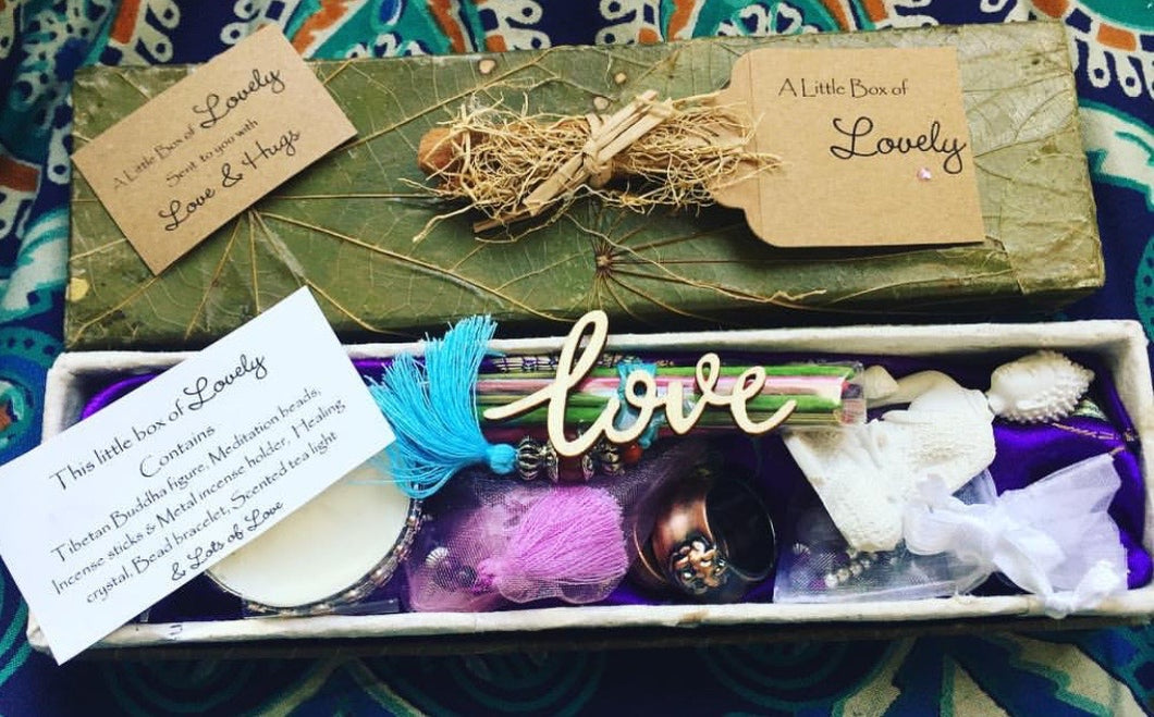 Little box of lovely - Meditation Gift