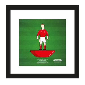 Subbuteo themed print - Nottingham Forest FC - John McGovern