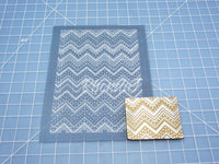 Silk Screen #33 / Chevron