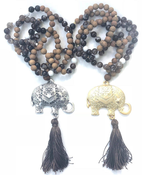 Sandalwood Strength Mala :: More Colors Available