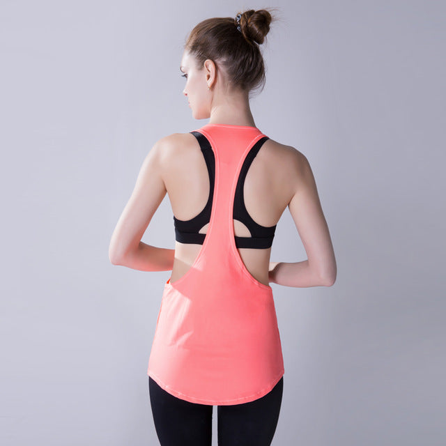 Yoga Crop Top Sleeveless Shirt