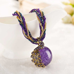 Royal Peacock Necklace
