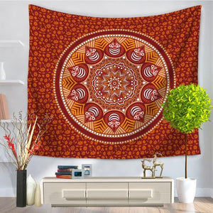 Decorative Mandala Tapestry