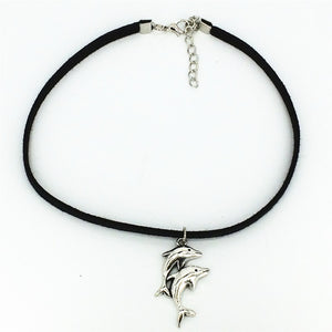 Dolphin Chokers Necklace