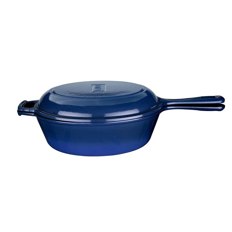 COMBO 3 IN 1 BLUE - POT, PAN & DUTCH OVEN - 26 CM - LAVA CANADA