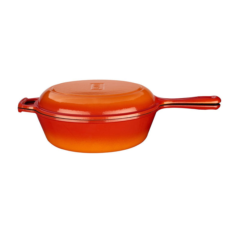 COMBO  3 IN 1  ORANGE - POT, PAN & DUTCH OVEN - 26 CM - LAVA CANADA