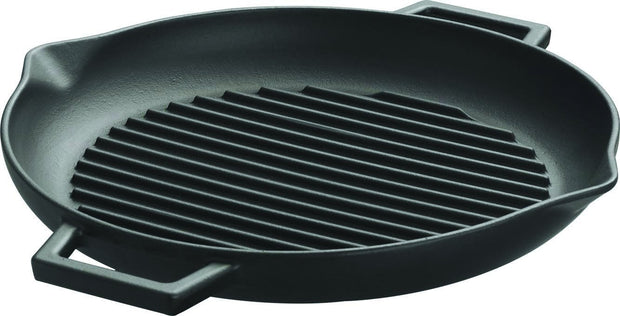 Kitchen - 30 CM ROUND GRILL PAN W/ POUR SPOUTS