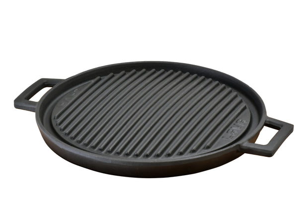 REVERSIBLE ROUND GRILL/GRIDDLE 34 CM 13.25"