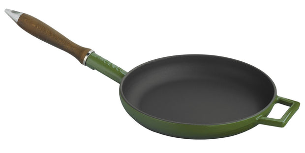Kitchen - FRYING PANS W/ WOODEN HANDLE