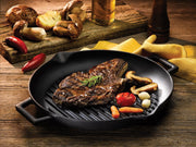 "Lava 26cm/10"" Round Grill Pan With Pour Spouts"