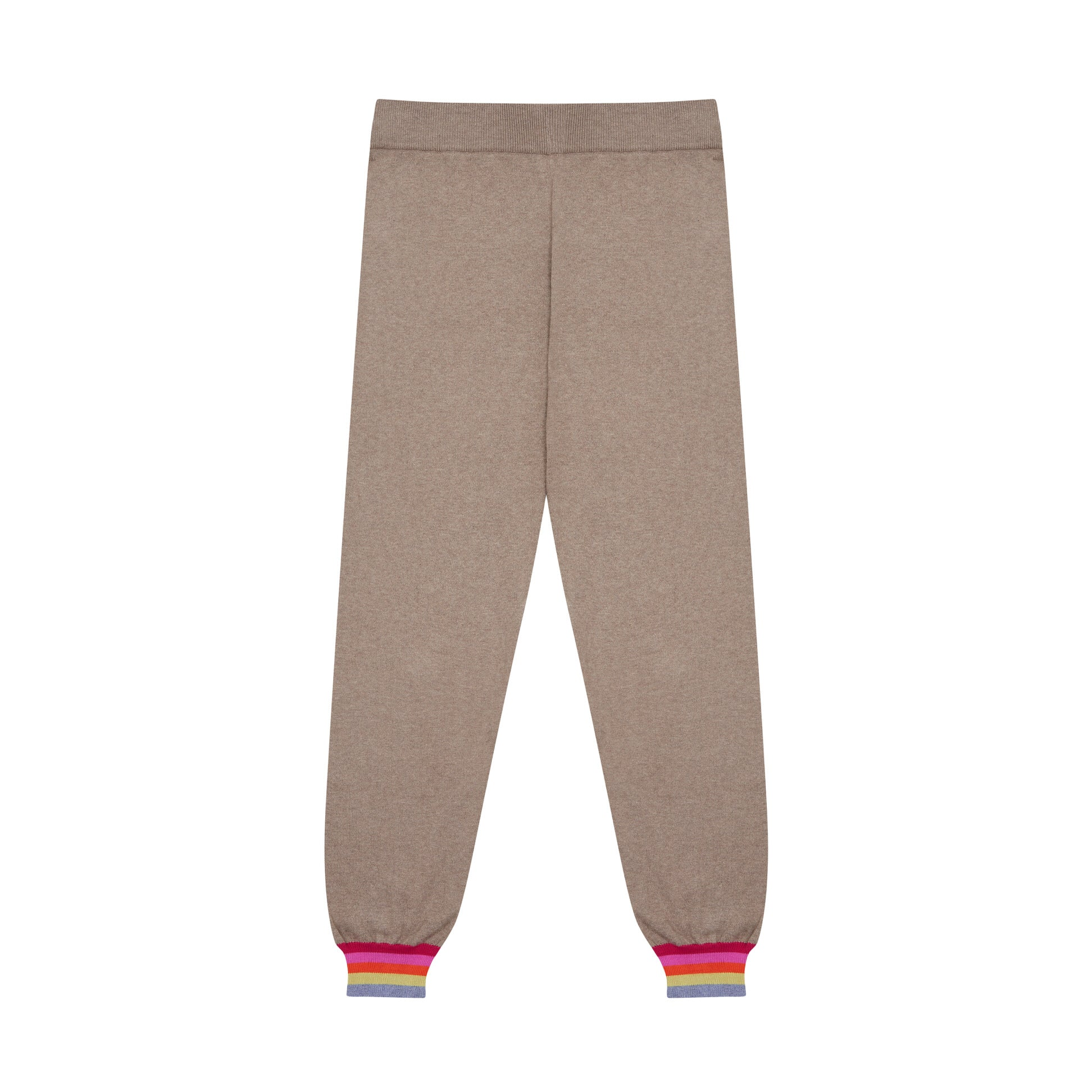 Rainbow Trim Cotton Joggers
