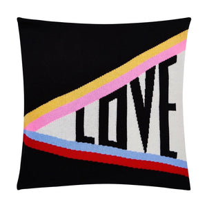 Love Rainbow Cashmere Blend Cushion | Pre Order
