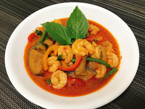 Red Thai Shrimp Curry
