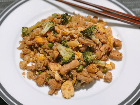 "Chicken ""Fried Rice"""