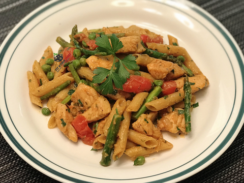 Chicken and Veggie Penne Primavera