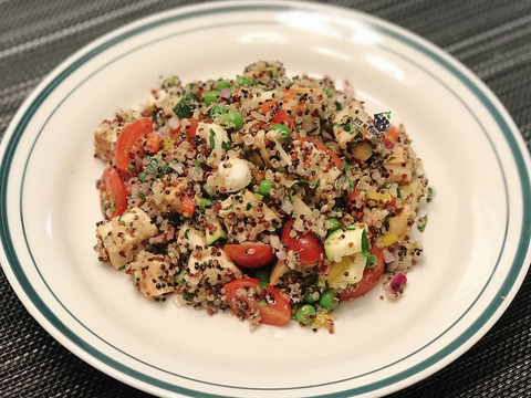 Chicken and Mozzarella Quinoa