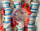 Slime Birthday Party Package with 10 Slime Party Favors and Bonus 8 oz Slime for the Birthday Person!