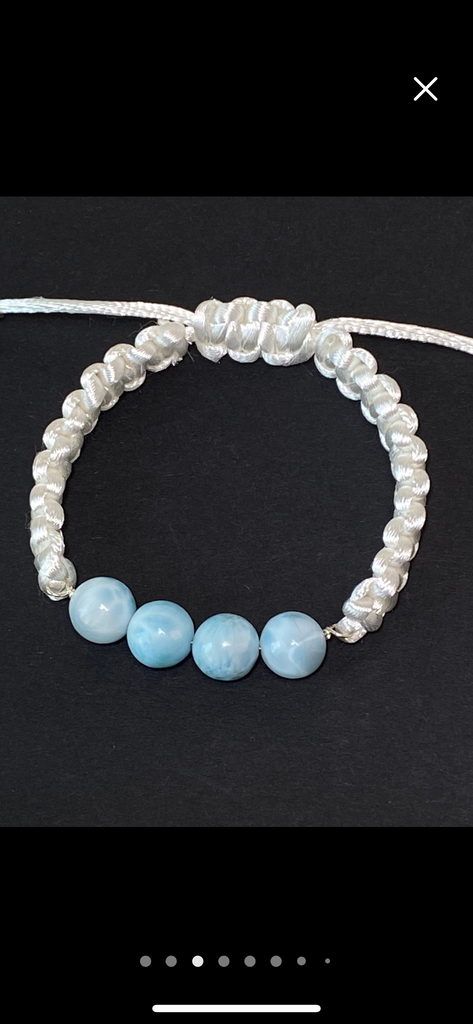 Mystic Moonstone and Sterling Silver Layering Bracelet - doolittlejewelry