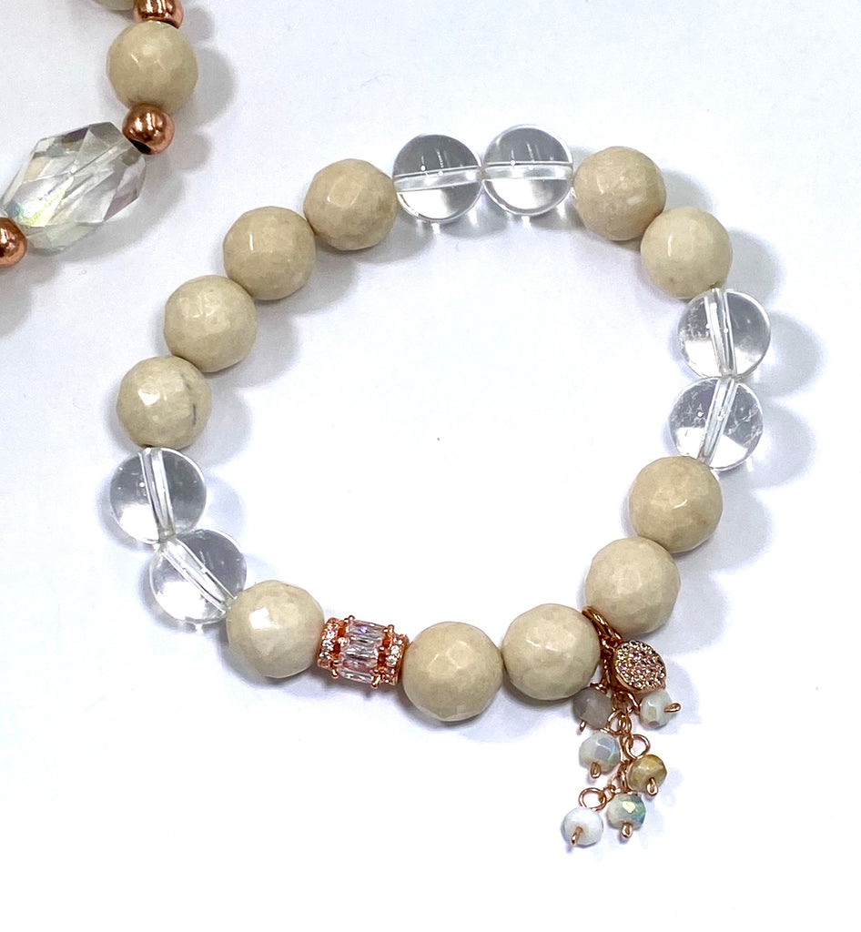 CUSTOM BRACELET ORDER for MJ - doolittlejewelry