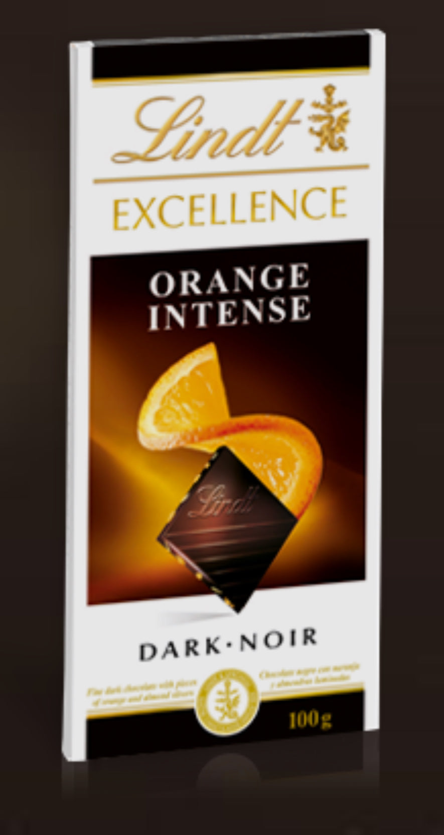 Lindt Excellence Dark Orange Intense
