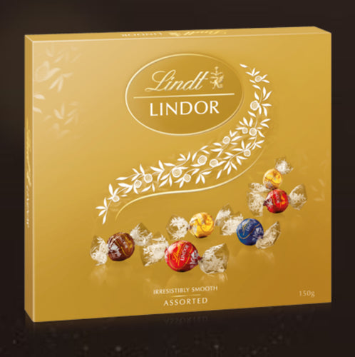 Lindt Lindor Assorted Gift Box 150g