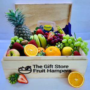 Classic Wooden Fruit Hamper