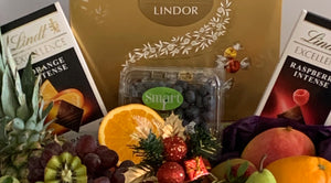 Deluxe Christmas Chocolate & Fruit Hamper
