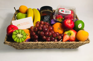Wellness Fruit & Honey Basket
