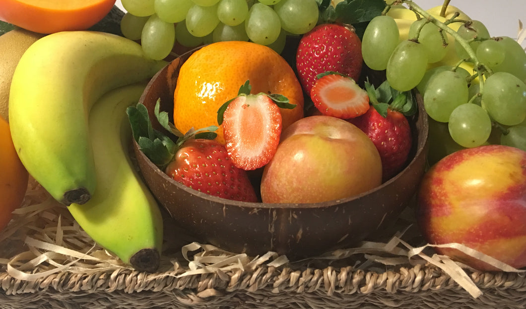 Special Edition Fruit Basket with Coconut Bowl