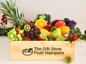 Happy Healthy Holiday Fruit Hamper